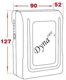 Dynacore DM-130S 130Wh V-Mount MINI Li-ion Battery